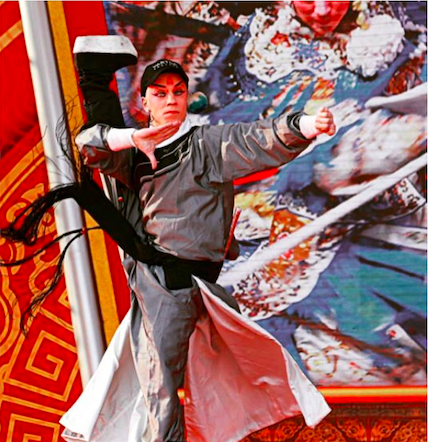 Toinen sija kansainvälisessä peking-oopperakilpailussa Pekingissä teoksella Vartija -arjen sankari